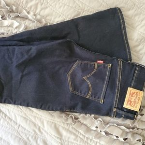 Levi Bootcut Fitted Jeans